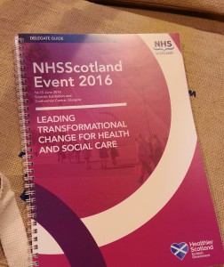 NHSScotland Event 2016 - Leading Transformational Change for Health and Social Care